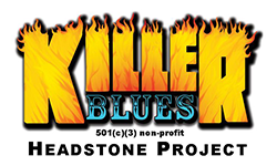 Killer Blues Headstone Project