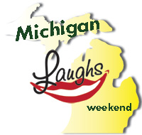Michigan Laughs Weekend logo